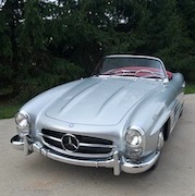 1957 Mercedes Benz restored by Bob                             Anzalone